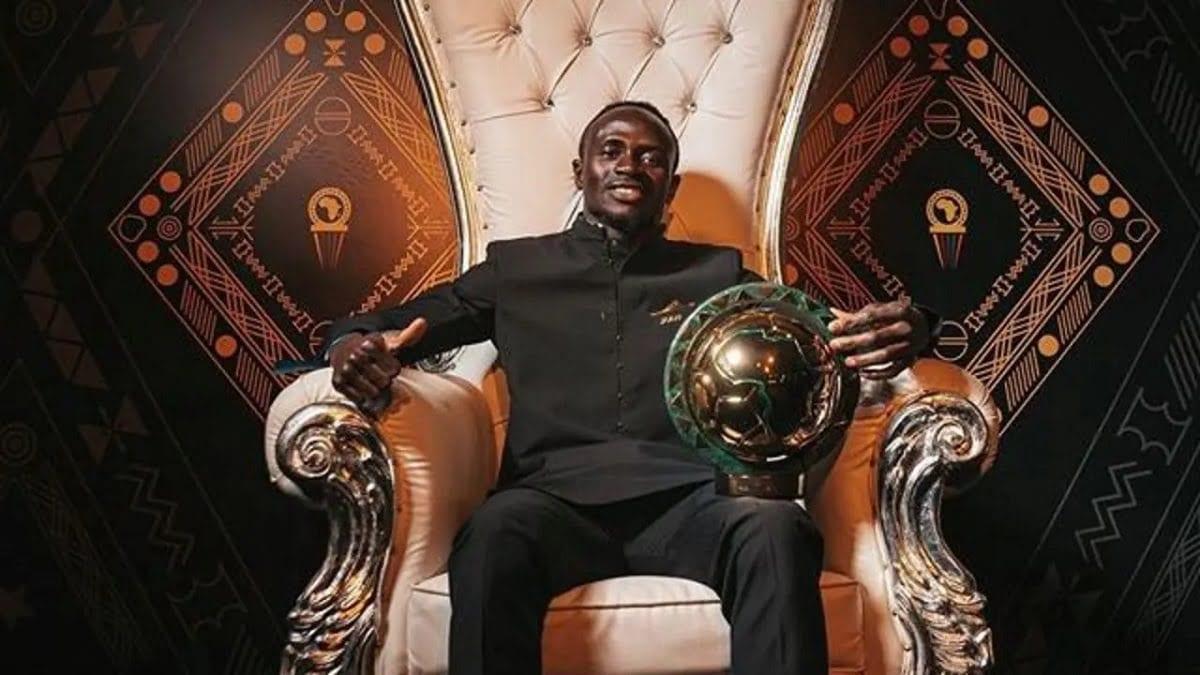 ( la cérémonie prix Caf 2019) - Sadio Mane ayant été sacré Joueur africain de l'année mardi à Hurghada+