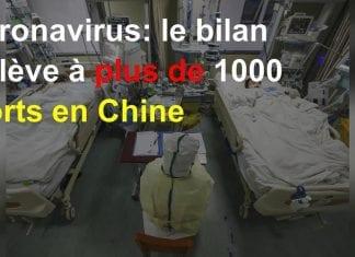 Coronavirus - la Chine compte plus de 1000 morts