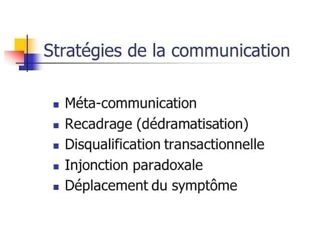 Théorie de la communication et approche systémique 2