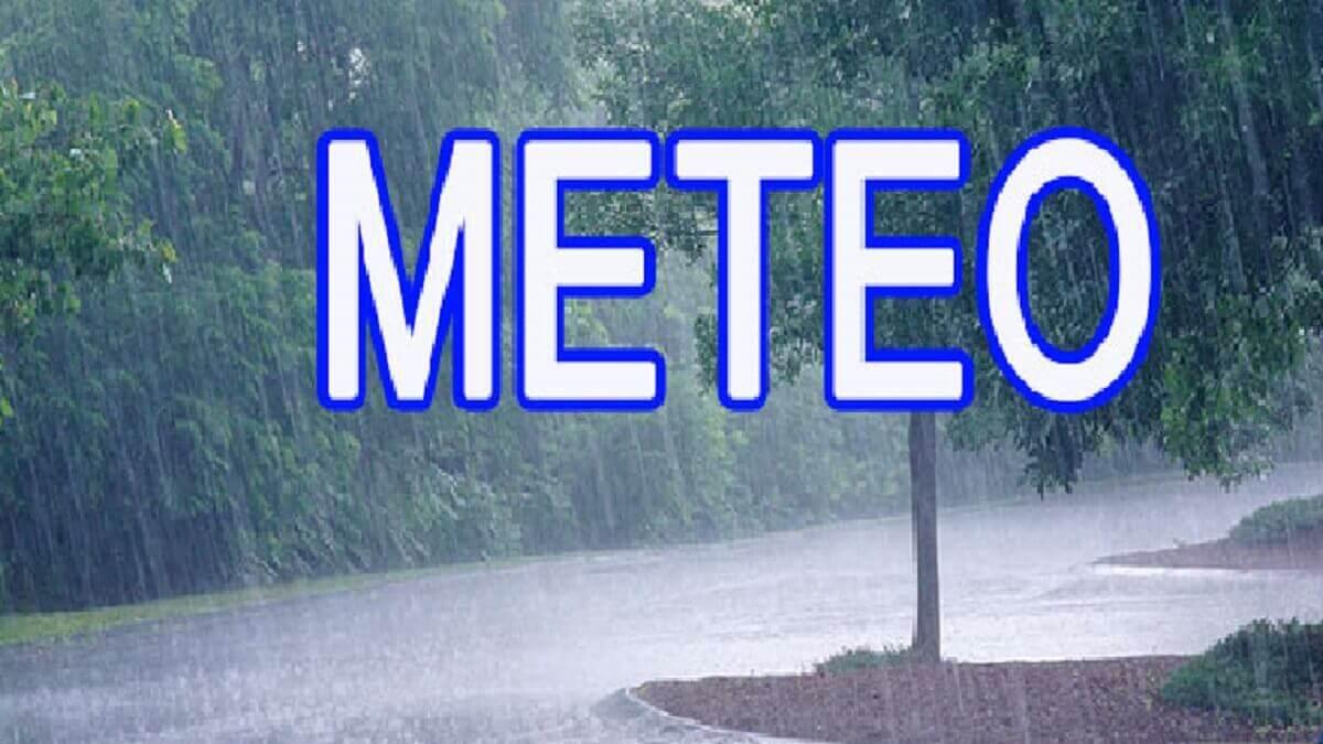 Des manifestations pluvio-orageuses annoncées sur le pays à partir du Sud-Est