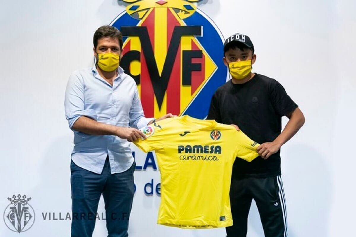 Takefusa Kubo,19 ans, (Real Madrid) à Villarreal, c'est officiel