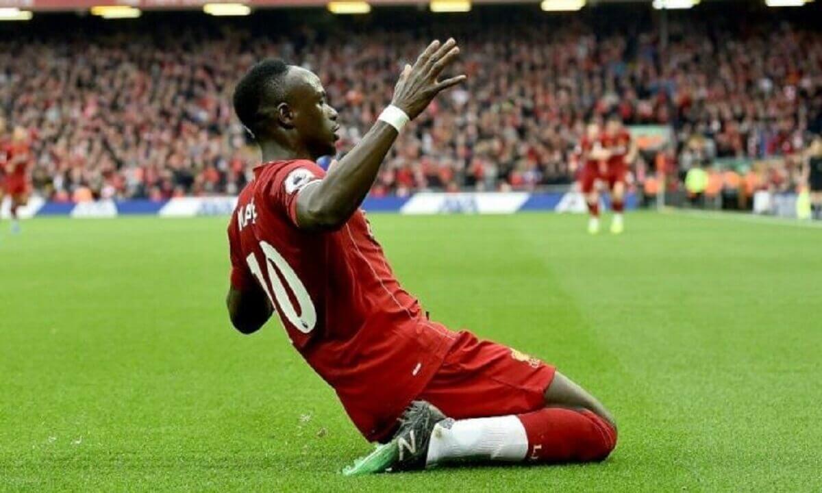 sadio-mane - Le but plein de malice de Sadio Mané face à Chelsea pour le 2 buts à zéro (vidéo)