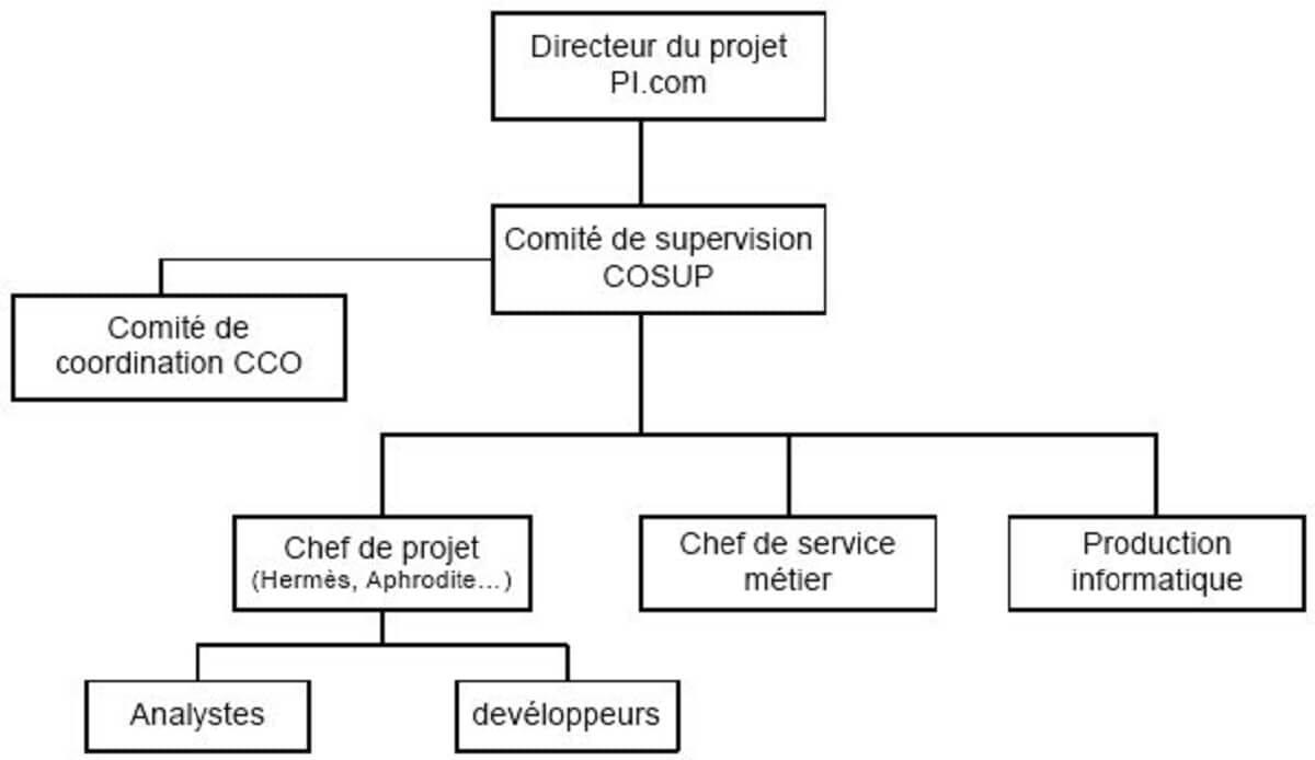 Figure 4-Les acteurs directs de Picom