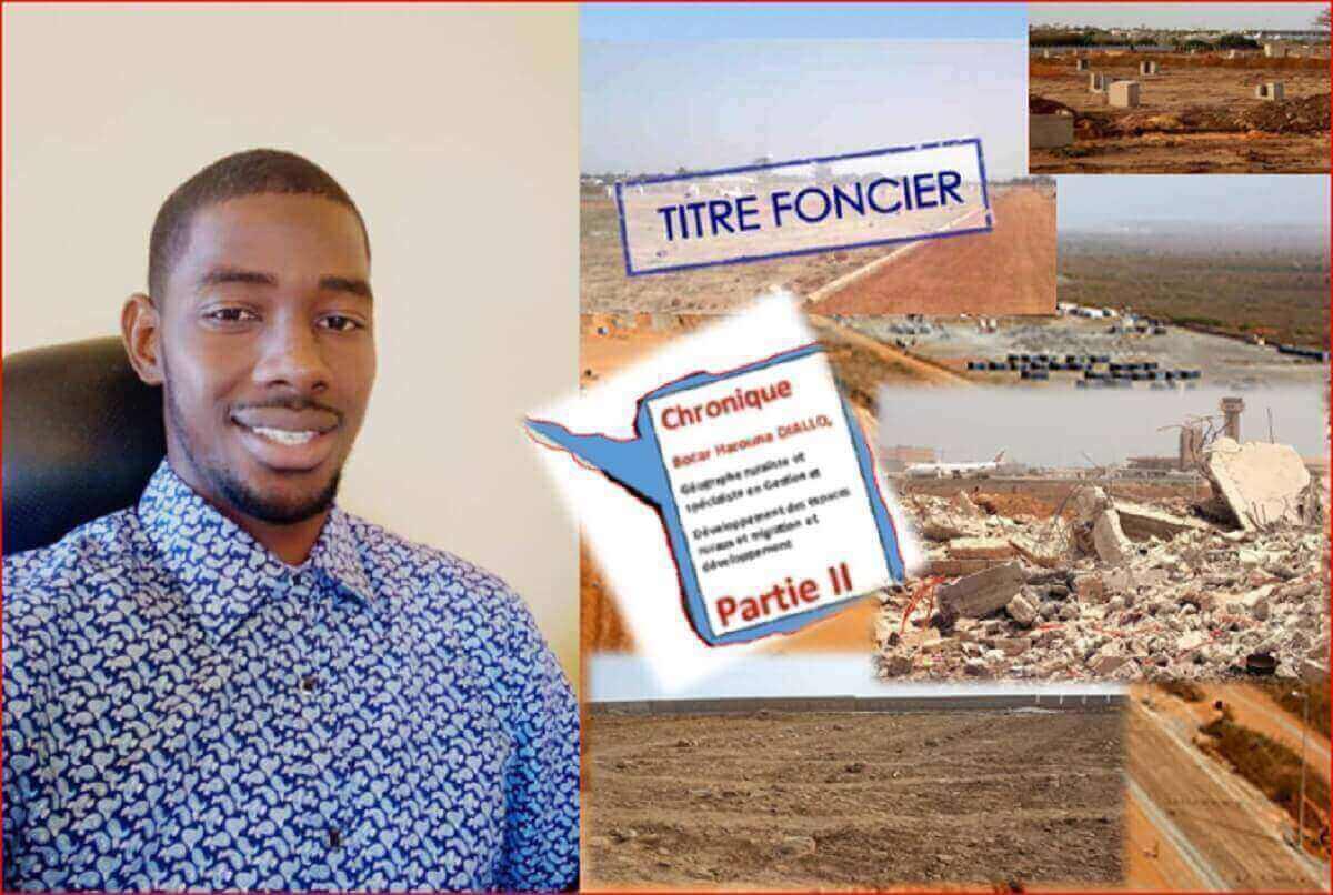 Bocar Harouna DIALLO, Géographe ruraliste et spécialiste en Gestion-Capture+Capture