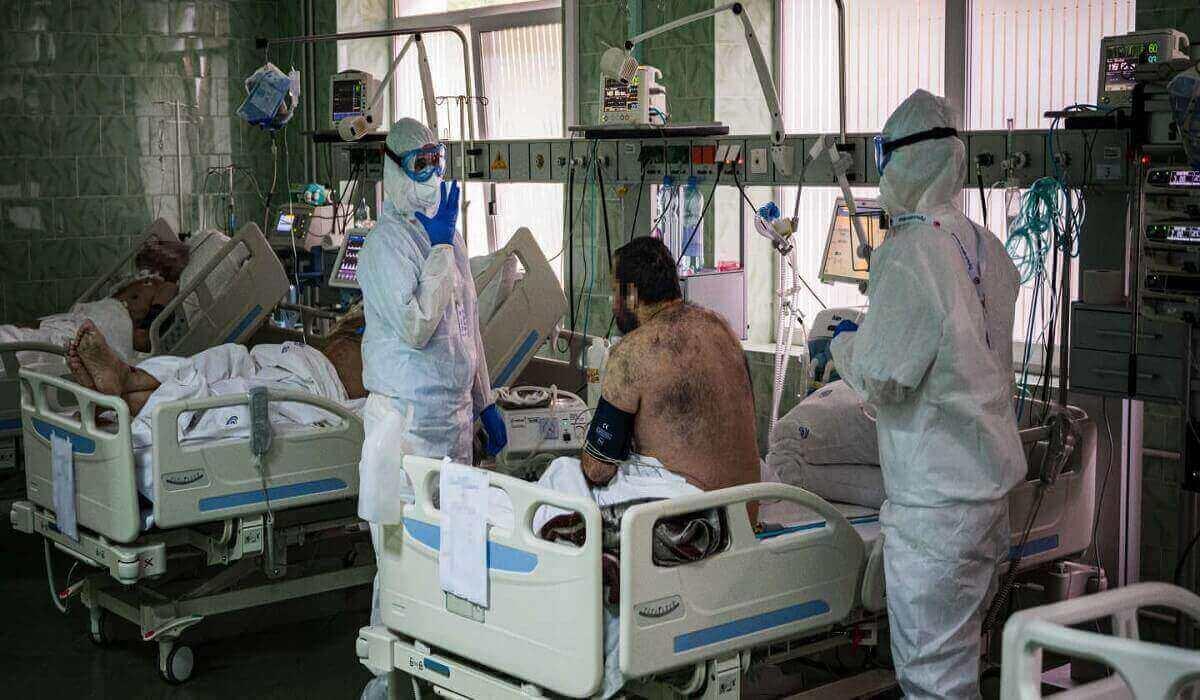 en russie , nouveau bilan sur les morts du covid-19
