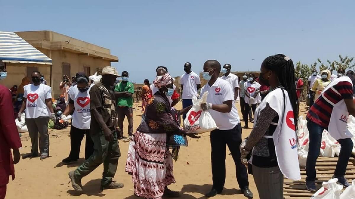 Unisocial, qui est une branche de l'Église Universelle du Royaume de Dieu au Sénégal, à Mbebeuss0