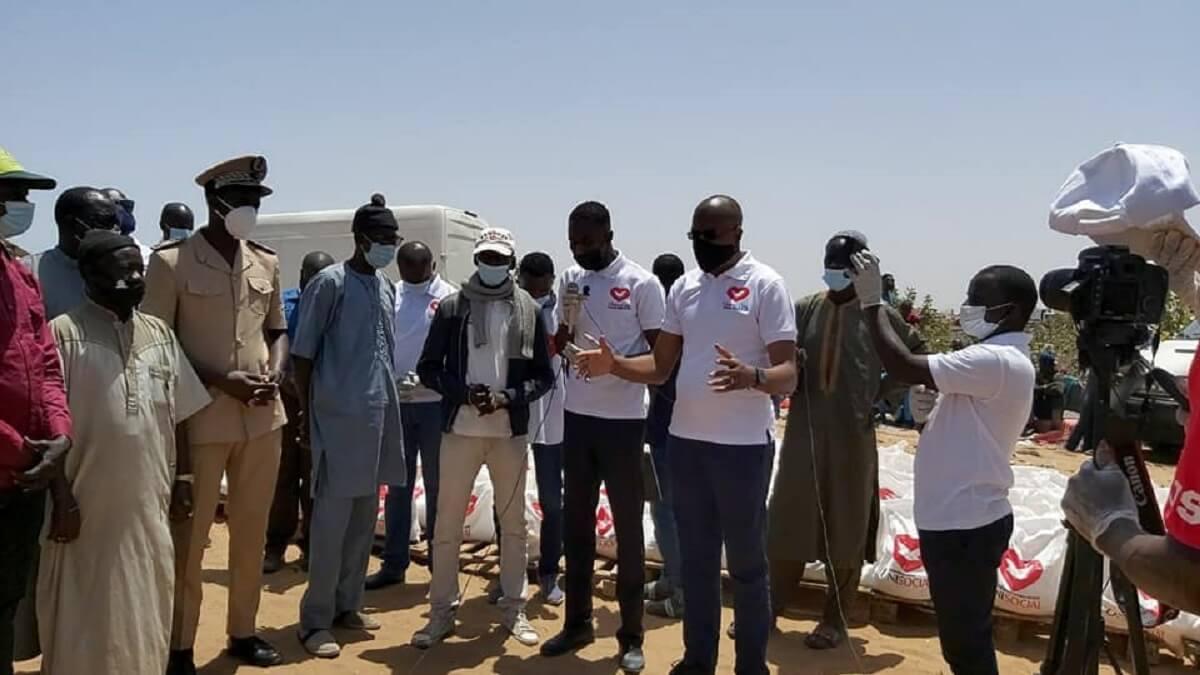 Unisocial, qui est une branche de l'Église Universelle du Royaume de Dieu au Sénégal, à Mbebeuss1