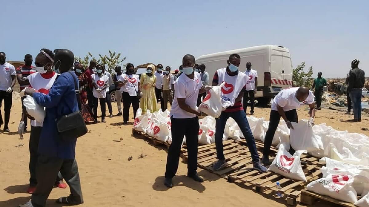 Unisocial, qui est une branche de l'Église Universelle du Royaume de Dieu au Sénégal, à Mbebeuss10