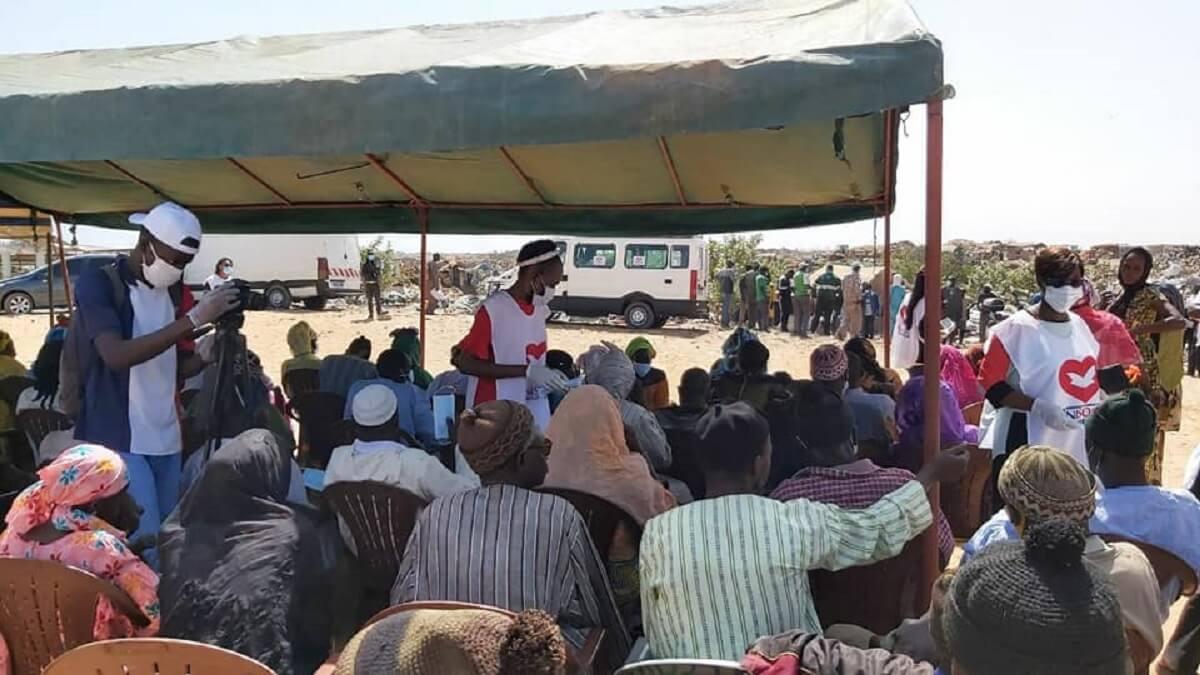 UNISOCIAL Sénégal : Don de 350 kits alimentaires à Mbeubeuss par l'Église Universelle du Royaume de Dieu (en images) 5