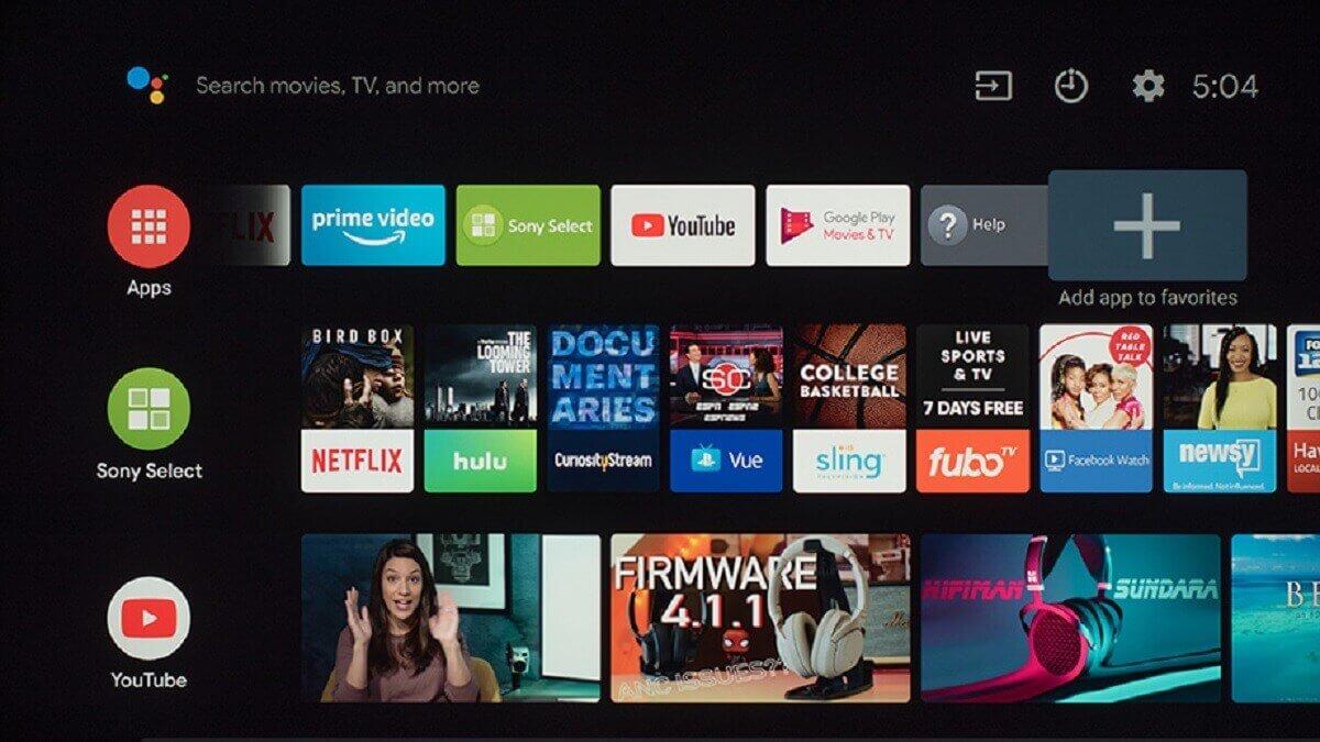 Android TV est l'OS le plus complet www.kafunel.com smart-tv-android