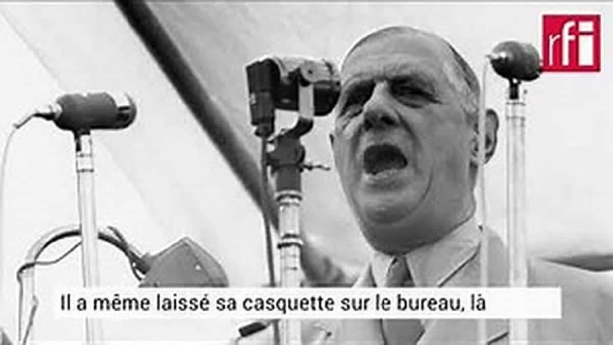 Général De Gaulle Il y a 60 ans, l'indépendance de la Guinée
