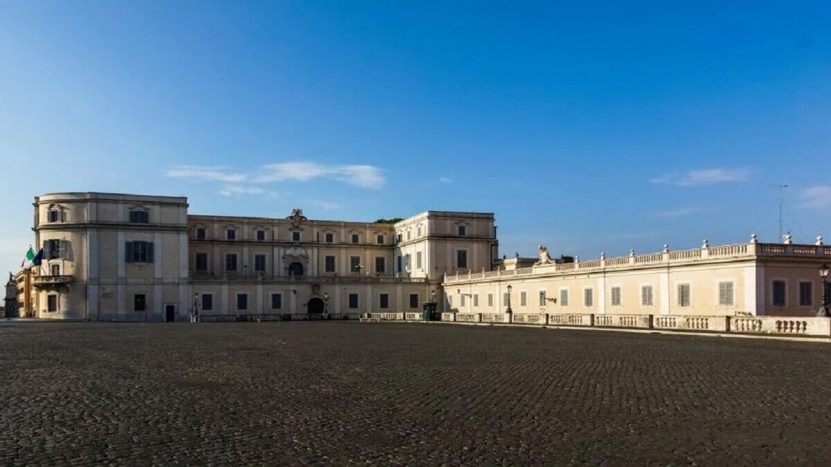 1- Le palais du Quirinal, Italie
