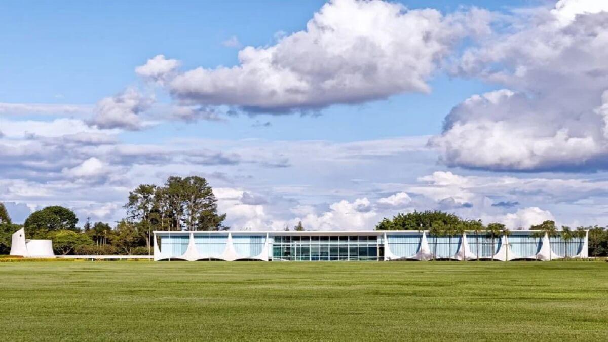2- Le palais de l'Aurore, Brésil