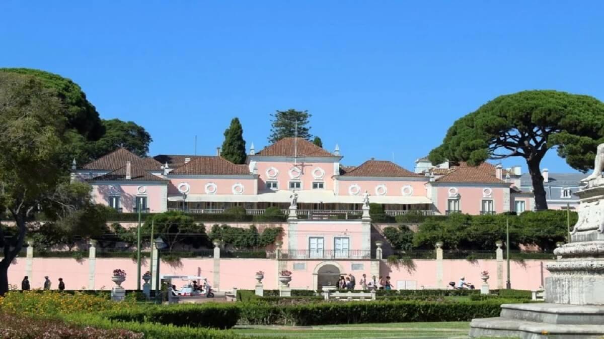 4- Le palais national de Belém, Portugal