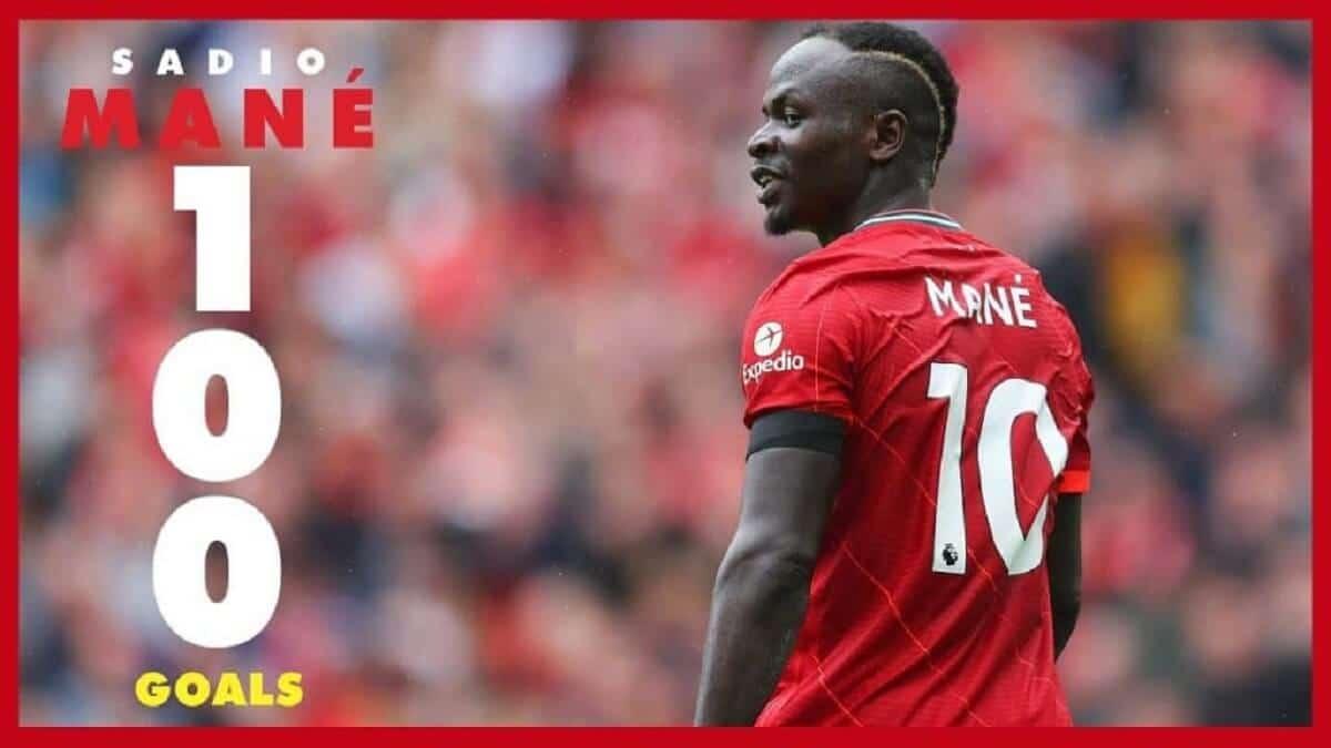 Regardez l'intégralité des 100 buts de Sadio Mané en Premier League2