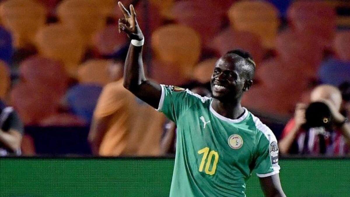 Sadio Mane de Liverpool a mis le Sénégal sur la bonne voie contre le Togo à Thiès mercredi